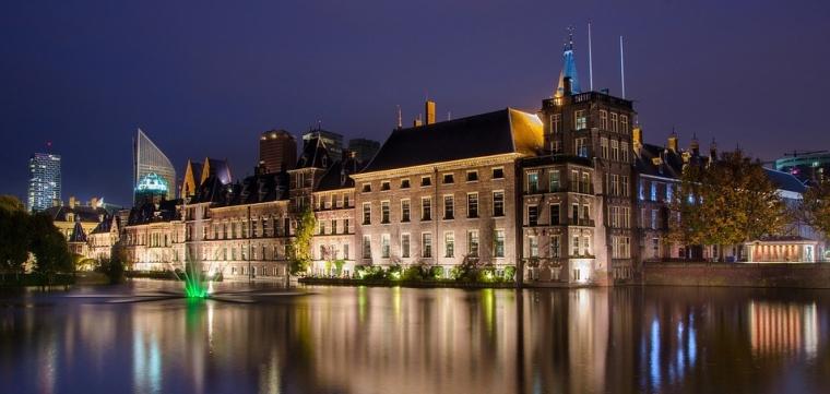 Dutch The Hague Binnenhof Parliament Politics