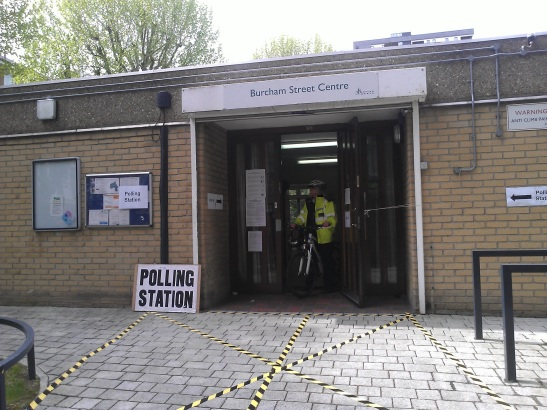 Tower Hamlets Polling Station